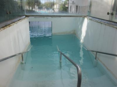 Ingresso piscina esterna